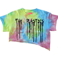 The Plastics Rainbow Crop Top