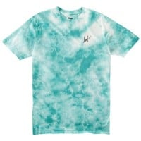 Huf Small Script Crystal Wash T-Shirt - Men's at CCS