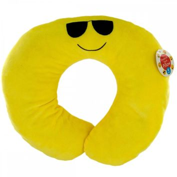 Emoticon Plush Travel Pillow