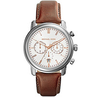 Michael Kors Men's Pennant Chronograph Watch - Brown