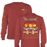 Gliks - Simply Southern Preppy Collection Fall Festival Long Sleeve Tee