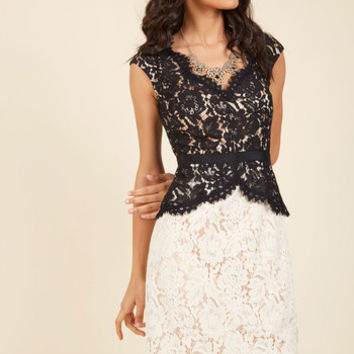 Courageously Clad Lace Dress | Mod Retro Vintage Dresses | ModCloth.com