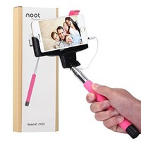 Noot Built-in Remote Shutter Selfie Stick for Apple, Android Smartphones