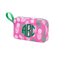 Monogrammed Pineapple Of My Eye Cosmetic Bag