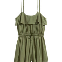 H&M Jumpsuit with Flounce $24.99