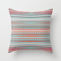 BOHO Throw Pillow by Nika