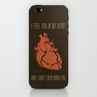 "Tegan and Sara ""Nineteen"" Lyric Art iPhone & iPod Skin by Good Juju"