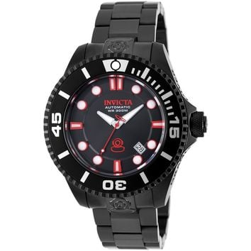 Invicta Men's 19809 Pro Diver Automatic 3 Hand Charcoal Dial Watch