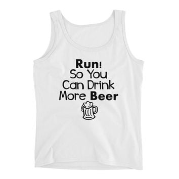 Run So You Can Drink More Beer - Womens Running Tank top