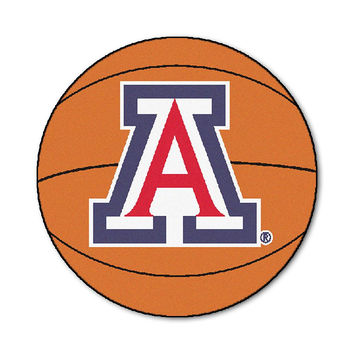 Arizona Wildcats NCAA Basketball Round Floor Mat (29)