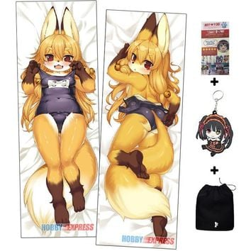 Kawaii Furry Anime Dakimakura Japanese Hugging Body Pillow  ADP65090