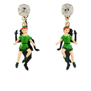 N2 by Les Néréides FLY WITH ME PETER AND SHADOW EARRINGS