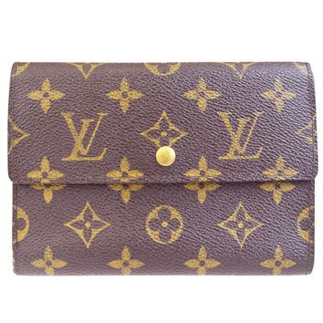 Auth LOUIS VUITTON Tresor Trifold Wallet Purse Monogram Leather M61202 02BD931