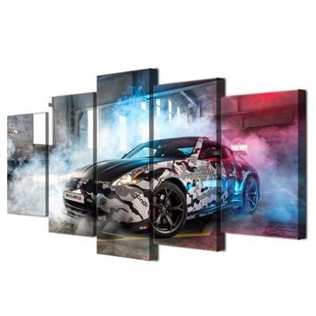 NISSAN 370Z NISMO canvas wall print for living room Framed and UNframed