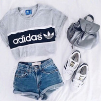 Adidas Originals Women Loose Tee T-shirt