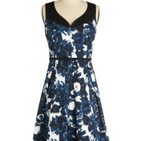 Blueberry Nights Dress | Mod Retro Vintage Printed Dresses | ModCloth.com