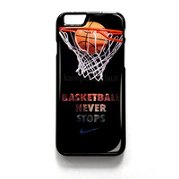 Nike Basketball iPhone 4 4S 5 5S 5C 6 6 Plus , iPod 4 5  , Samsung Galaxy S3 S4 S5 Note 3 Note 4 , and HTC One X M7 M8 Case