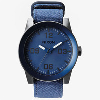 Nixon The Corporal Watch Blue Ano One Size For Men 25598620001