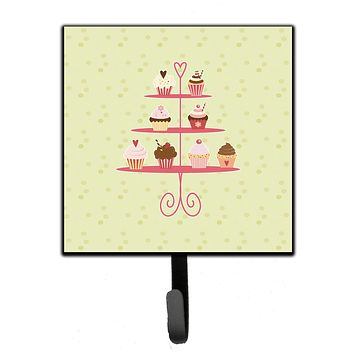 Cupcakes 3 Tier Stand on Green Leash or Key Holder BB7304SH4