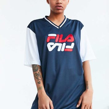 FILA + UO Bibi Baseball Mini Dress - Urban Outfitters
