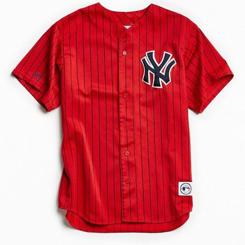 Vintage MLB New York Yankees Baseball Jersey - Urban Outfitters