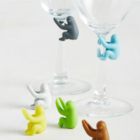 Let's Hang Glass Marker Set | Mod Retro Vintage Kitchen | ModCloth.com