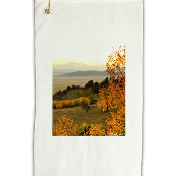 "Nature Photography - Gentle Sunrise Micro Terry Gromet Golf Towel 11""x19 by TooLoud"