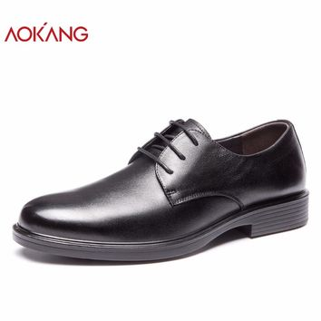 Spring New Arrival Men Shoes Genuine Leather Business Shoes Fashion Derby Shoes High Quality