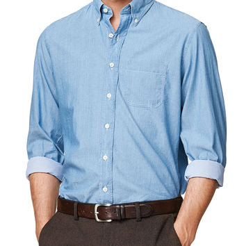 Headline Chambray Button Down Shirt