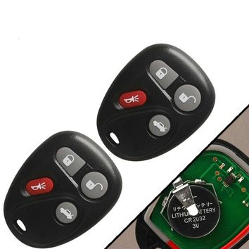New Keyless Entry Remote Control Car Key Fob Replacement for Chevrolet Cadillac Pontiac