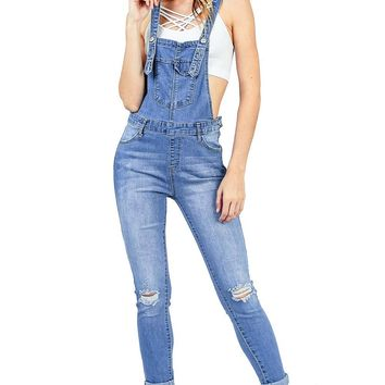 Jessie Cropped Overalls