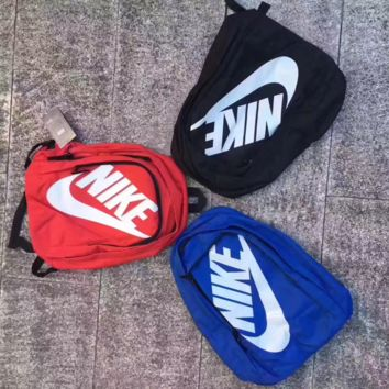 """NIKE""Trending Fashion Sport Laptop Bag Shoulder School Bag Backpack"