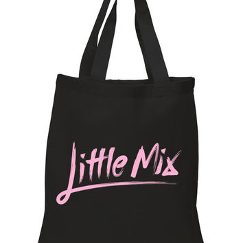 "Little Mix ""Little Mix Logo"" 100% Cotton Tote Bag"