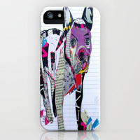 boston graffiti iPhone Case by bri.buckley