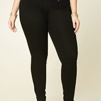 Plus Size Super Skinny Jeans