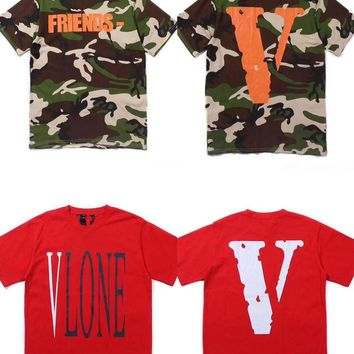 DCCK2 c 1094 Vlone Casual Fashion Skateboard T Shirt