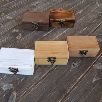reclaimed wood ring box wood ring box wedding wedding ring box wedding ring holder Proposal ring box wedding ring holder ring bearer box