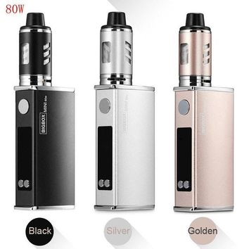 DCCK2JE 80W Big Vape-Box Pen LED Electronic Vapor 2200mAh Battery Coil Atomiser Stater