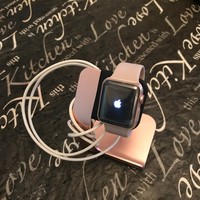 Apple Watch Series 2 38mm Aluminum Rose Gold Band LOCKED
