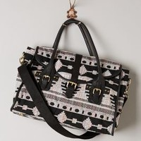 Catorce Satchel by Anthropologie Black Motif One Size Bags