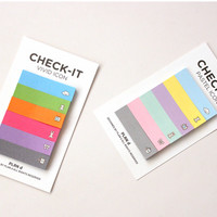 Vivid Index Sticky Note