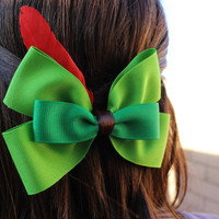 Peter Pan Inspired Disneybound Bow