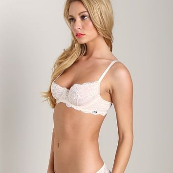 Montelle Intimates Coquette Demi Lace Bra Ivory 9012C at Largo Drive Underwear & Swimwear
