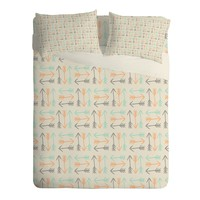 Allyson Johnson Peachy Arrows Pattern Sheet Set Lightweight