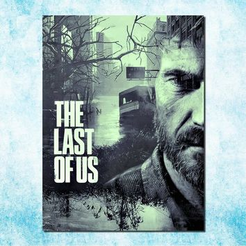 The Last Of Us Art Silk Canvas Poster Print Zombie Survival Horror Action TV Game Pitcures 13x18 24x32 inches (more)-7