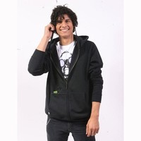 Hoodie Buddie with Hb3 Technology - Men's - Full Zip - Black - Size Large