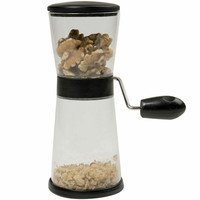 Evelots Nut Chopper Nuts Coffee Beans Hand Crank