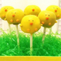 Cake Pops - Easter Chicks