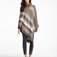 Women's Apparel | Cashmere Shop | Fair Isle Poncho | Lord and Taylor
