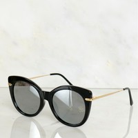 Classic Sunglasses Mirrored Black